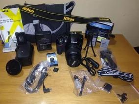 Nikon D3200 / Kit Com Acessórios / Entrego Em Maos , 550,00