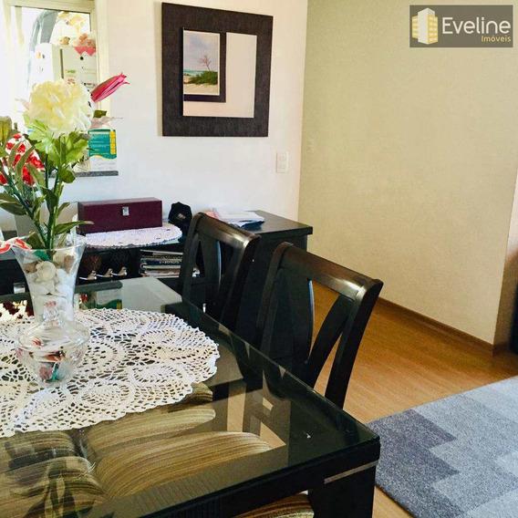 Apartamento Para Alugar No Centro De Mogi Das Cruzes. 2 Quartos - A1207