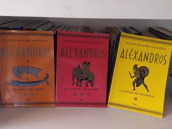 Livro Aléxandros- Trilogia