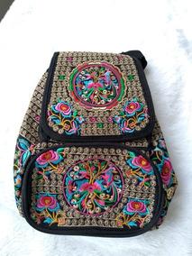 ac9fdf952 Mochila Hippie Etnica - Calçados, Roupas e Bolsas no Mercado Livre ...