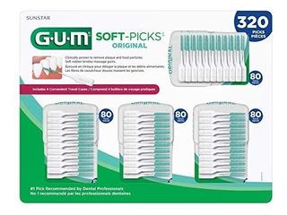 Gum Soft-picks Palillos De Dientes Originales, 320 Conde