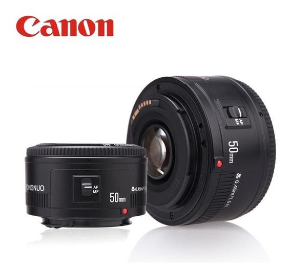 Lente 50mm F/1.8 Yongnuo P/ Canon T3i T5i T6 60d 80d Etc...