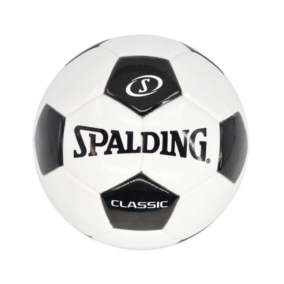 Pelota Futbol Tornado Clasic Blanco Con Negro - Spalding