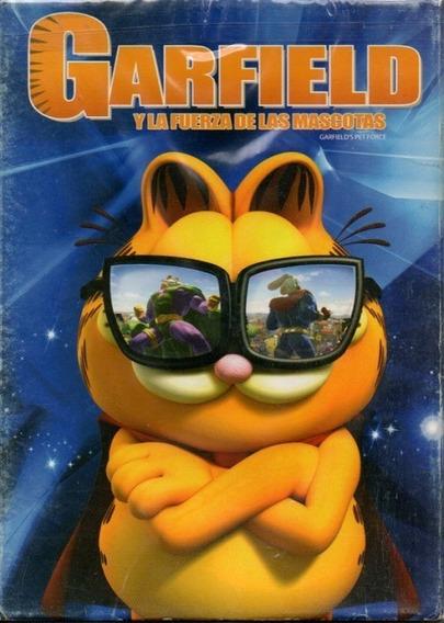 Garfield Y La Fuerza De Las Mascotas Película Dvd