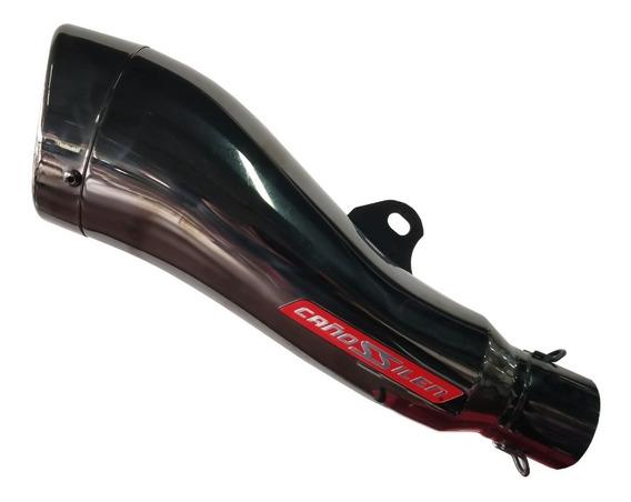 Silenciador De Moto Universal Cañossilen Cs8