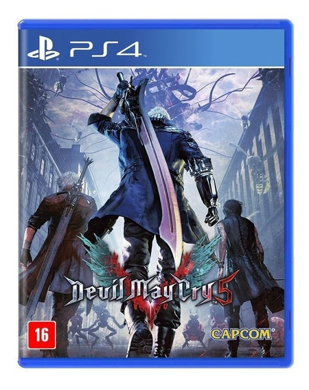 Jogo Devil May Cry 5 Mídia Física - Ps4