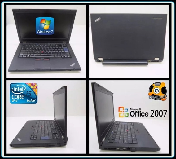 Notebook Lenovo T430, Core I5-3320m, Hd 500 Gb, Memória 8gb