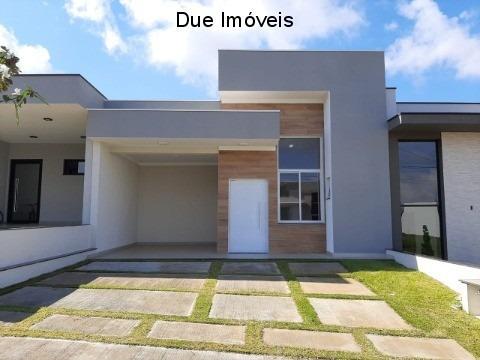 Linda Casa Nova 3 Dormitórios Sendo 1 Suíte No Condomínio Bréscia - Ca01889 - 67665701