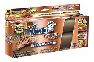 Yoshi Copper, Tapete Para Parrilla 2 Hojas. Como Lo Vio Tv