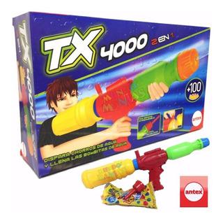 Pistola De Agua Bombucha Tx4000 2 En 1 Antex - Mundo Manias