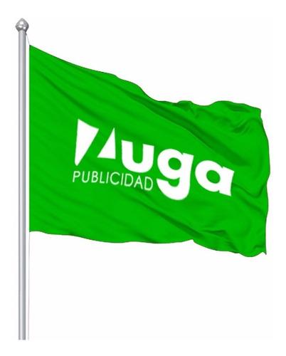 Banderas Personalizadas, Sublimada, Estampado, 200x140cm,