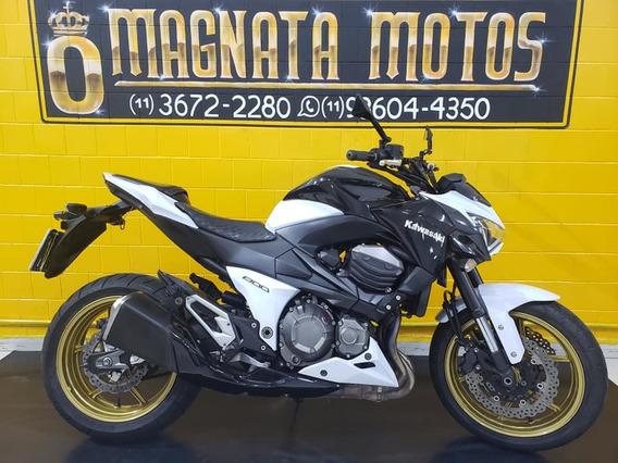 Kawasaki Z 800 - 2013 - Branca - Km 28.000- 1197740-1073