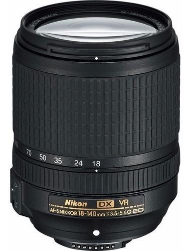 Lente Nikon Af-s Dx Nikkor 18-140mm F/3.5-5.6g Ed Vr Nova
