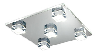 Aplique Plafon 5 Luces Led Cob Living 50w Cuotas Premium