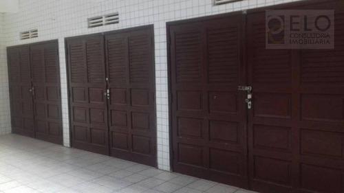 Apartamento Com 2 Dormitórios À Venda, 102 M² Por R$ 480.000,00 - Campo Grande - Santos/sp - Ap1481