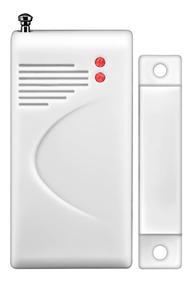 Sensor Magnético Porta Janela Sem Fio Longo Alcance 433 Mhz