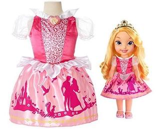 Muñeca De Princesa Aurora Para Niña Pequeña Set De Regalo P