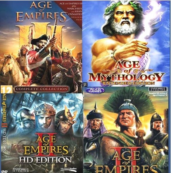 Todos Age Of Empires + Civilization Iv + Age Mythology !!!!!