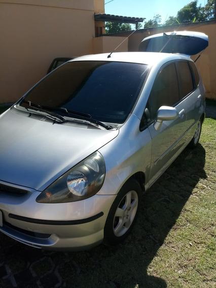 Honda Fit Lxl 04 Muito Conservado, Manual E Chave Reserva