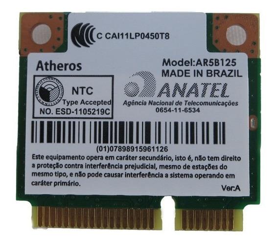 Placa Wireless Notebook Ar5b125 Acer Asus Hp