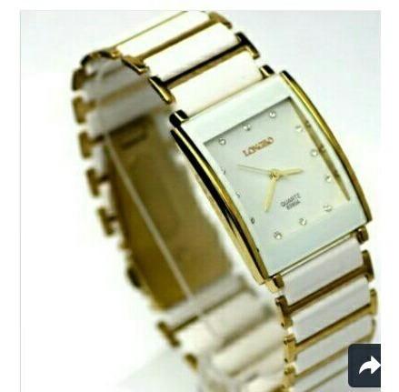 Relógio Longbo Social Water Resist 30 M Com Cerâmicas