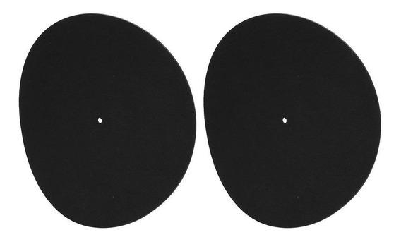 Feltro Platter Mat Lp Slip Mat Audiófilo 3mm Grosso