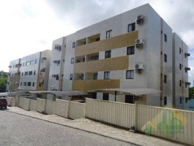 Apartamento Com 3 Dormitórios À Venda, 76 M² Por R$ 205.000 - Jardim Cidade Universitária - João Pessoa/pb - Cod Ap0491 - Ap0491