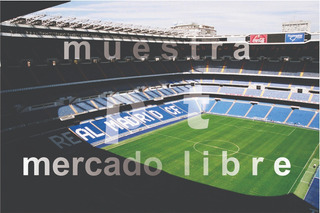 Cuadro Real Madrid Santiago Bernabeu Cr7