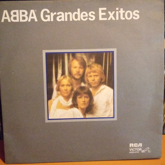Abba Grandes Exitos Tapa 9 Vinilo 8.5