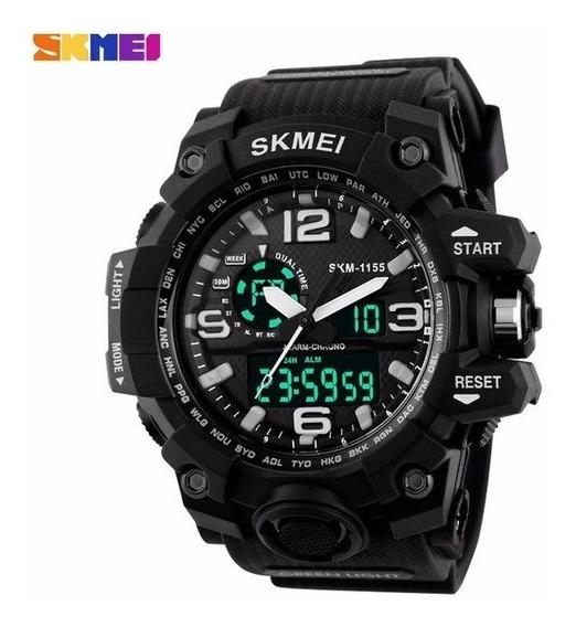 Relógio Masculino Skmei S Shock Digital Analógico P Água 30m