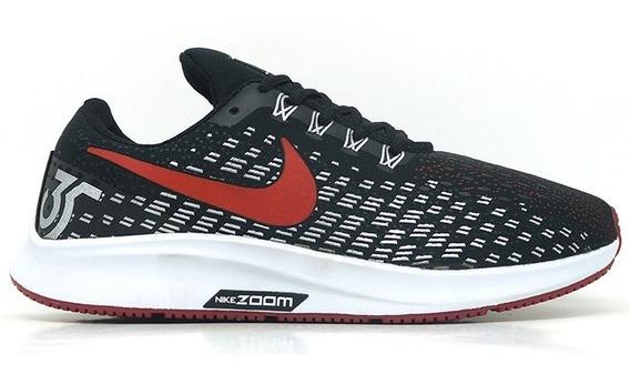 Tênis Nike Zoom Air Pegasus Preto E Vermelho Barato