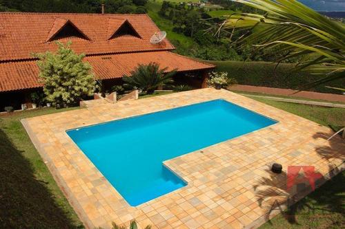 Chácara Com 3 Dormitórios À Venda, 1080 M² Por R$ 750.000,00 - Jardim Beatriz - Pinhalzinho/sp - Ch0147