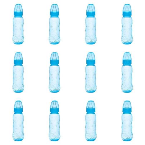 Kuka 1416 Mamadeira Aquarela Universal Azul 250ml (kit C/12)