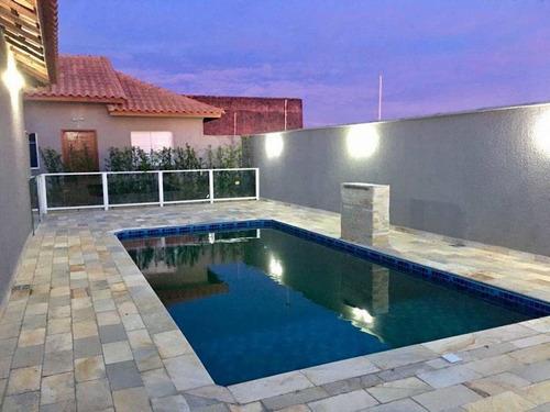 Casa Para Venda Em Itanhaém, Cibratel Ii, 2 Dormitórios, 1 Banheiro, 1 Vaga - It253d_2-1164441