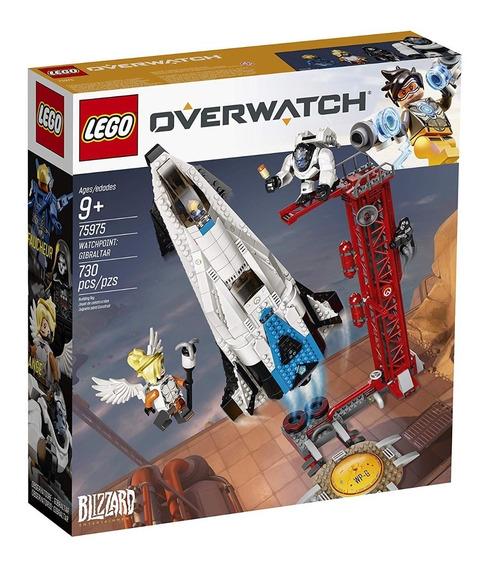 Lego Overwatch Observatorio Gibraltar 75975 Mercy Reaper