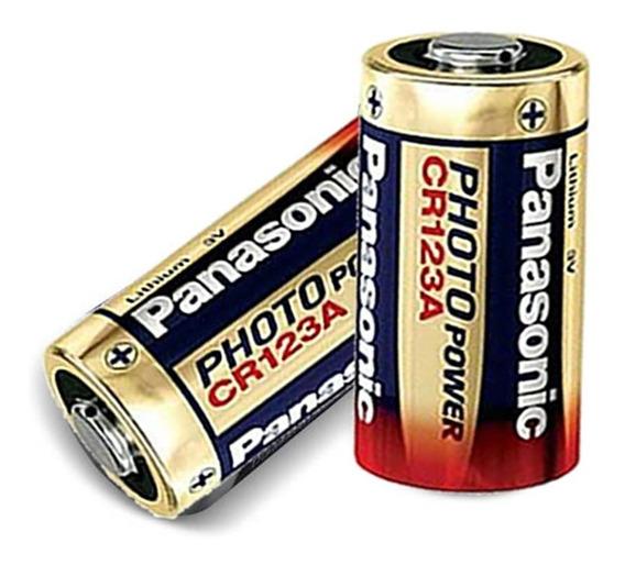 Kit Com 2 Bateria Cr123a 3.0v Lithium Photo - Lacrado