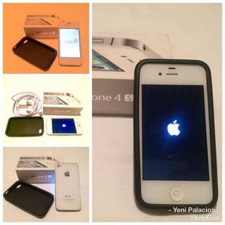 Celular iPhone 4s Caja Cargador Oferta Venta Oferta Barato