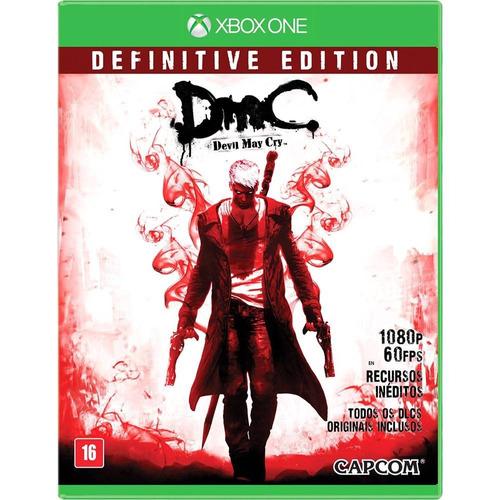 Game Xbox One Devil May Cry Mídia Física/ Novo/ Lacrado