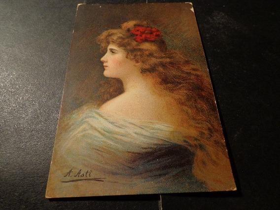 Retrato-1910- A. Asti- Alemania- Nurnbery. Theo Strofer