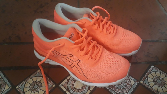 Zapatillas Asics Kayano 24 W Coral_ Originales_ Impecables