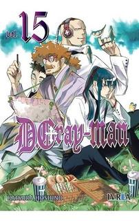 Manga D Gray-man # 15 - Katsura Hoshino