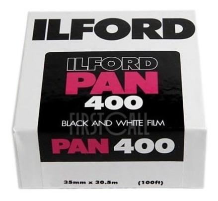 Ilford Pan Asa 400  35mm B/n Pelicula Rollo Analogicas