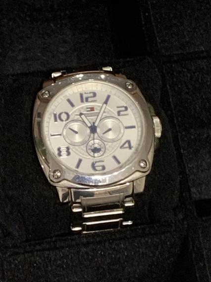 Relógio Masculino Tommy Hilfiger - Caixa Em Aço - Lindo!