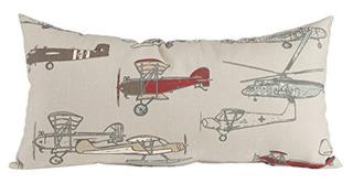 Glenna Jean Fly-by Pillow - Almohada Rectangular, Diseño De