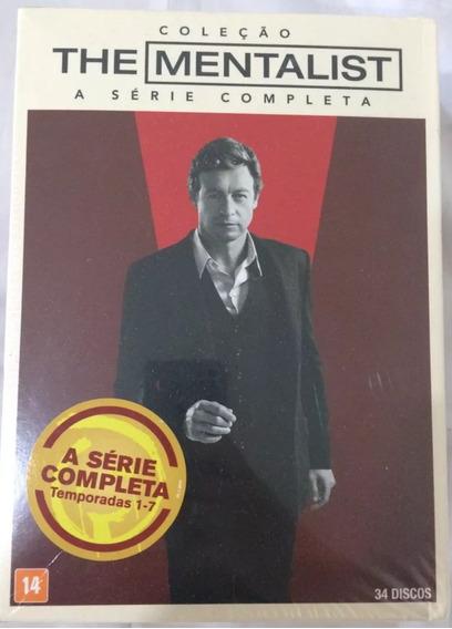 Box O Mentalista A Série Completa 7 Temporadas Dvd Original
