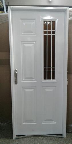 Puerta Reja Lateral Exterior Reforzada 80x200