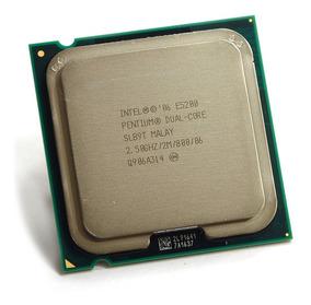 Intel Pentium E5200 2m Cache 2.50 Ghz 800 Mhz Fsb 775 Novo