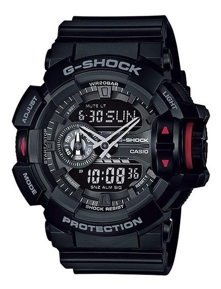 Relógio Casio G-shock Ga-400-1b Ga400 Na Caixa Original Sp