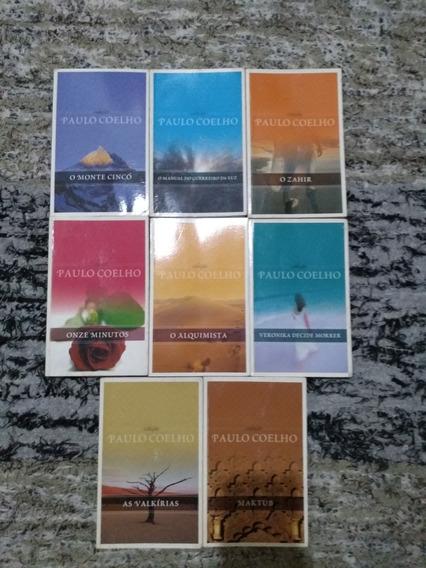 Kit 8 Livros Paulo Coelho Coleção Paulo Coelho - 8 Livros
