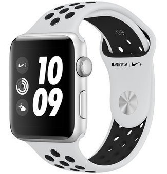 Apple Watch S3 Nike+ 42mm Plata Correa Deportiva Nike Platin